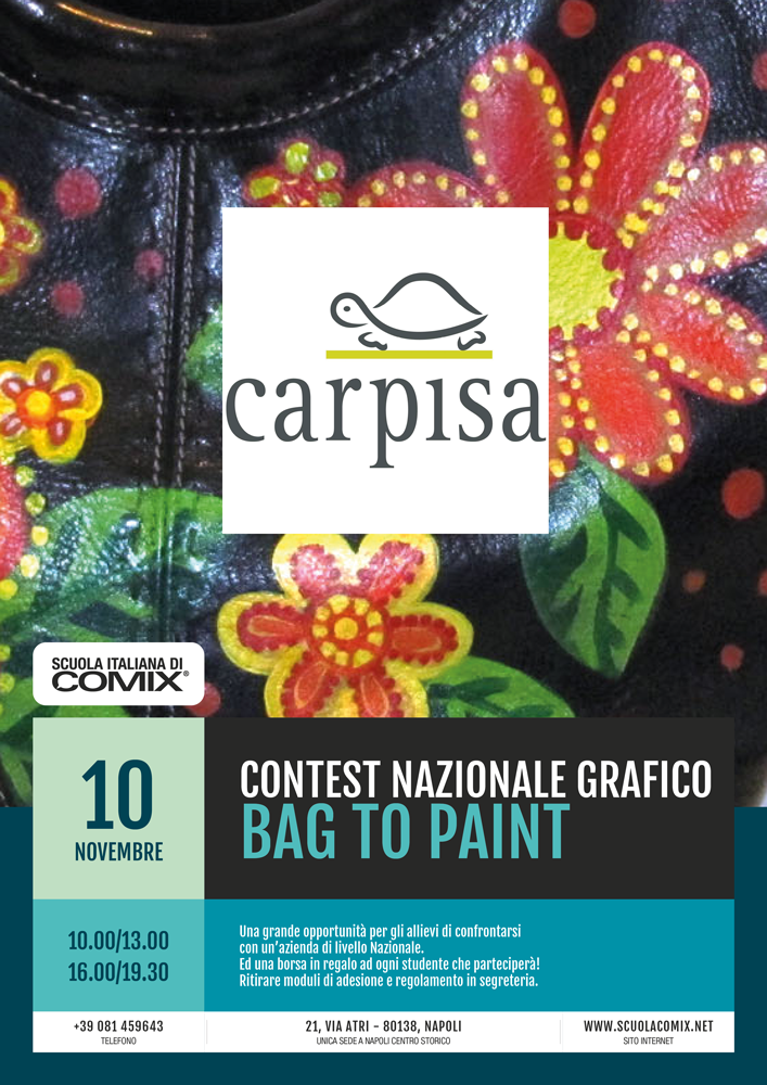 CONTEST BAG TO PAINT CARPISA